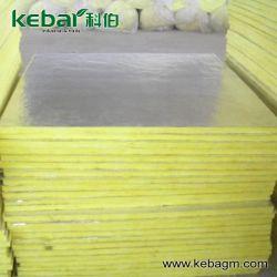 Keba amarillo losa de lana de vidrio con papel de aluminio