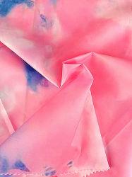100% Polyester Bedruckte Microfaser-Qualität Wasserdichte Baumwolle Daunenjacke Stoff Funktionell Stoff Polyester
