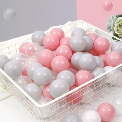 Plástico mole Ocean Ball brinquedo para crianças de 1 anos até a aprendizagem escolar Pit Ball nadar Ball Piscina Piscina esfera esfera tenda para crianças bebê meninos meninas escolares