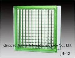Bloc de verre/brique de verre à motif nuage et brume à vendre à chaud