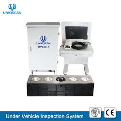 Detector de boom! Uniqscan arreglo bajo el sistema de vigilancia de vehículos