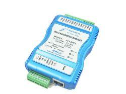 8 canaux Ethernet RJ45 RS232/RS485 a-d'émetteur d'isolation de convertisseur avec Modbus RTU TCP