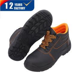 非割引本革の中間のかかとオイル抵抗のスリップの安い安全靴