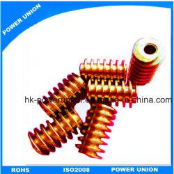 Industrielle Drucker-Messingwurm-Fahrwerk