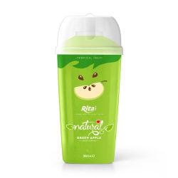 360мл РР ПЭТ-бутылки яблочный сок зеленого цвета