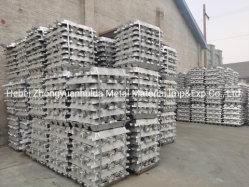 Les lingots d'aluminium de haute qualité 99,7 % 99,8 % 99,9 % avec des prix bon marché