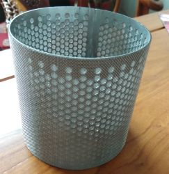 Wire Mesh Screenfilter cylindre, Filtre chimique