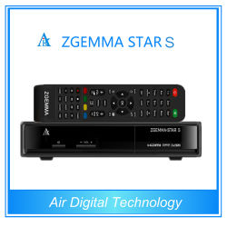 Zgemma Star S IPTV Dvbs2 Servidor Linux con el receptor de satélite
