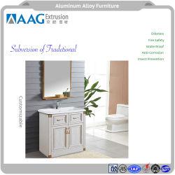 Meilleur accueil/hôtel/restaurant mobilier de jardin d'exquises moyennes Table à manger ensemble avec profil en aluminium anodisé et la plaque