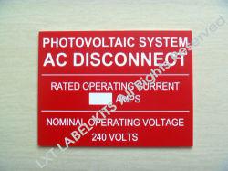 Système photovoltaïque AC débrancher des plaques solaires