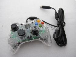 Controlador com fios do designer com luz LED e botão Turbo para xBox360