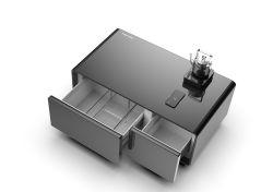 스마트 냉장고 커피 테이블 내장 블루투스 오디오 플레이어 2 냉장고 USB 2개