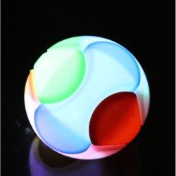 LEDは教育おもちゃの貯金箱3Dのプラスチック球をつける