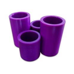 33mm 35mm 40mm 50mm de plástico de color púrpura tubo tubo principal para el embalaje de encogimiento de bobinado de rodillo TTR