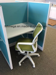 Blue Fabric Office Cubicle Workstation (FOH-42WT)