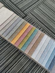 Design de impressão de imitação de cânhamo sofá de veludo Fabric