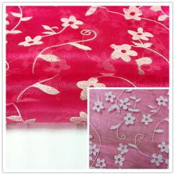 Tecido Organza espuma, tecido de malha vestido de casamento
