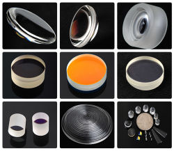 Uncoated 입히는 렌즈 또는 필터 또는 Windows 또는 로드 또는 색깔 유리제 광학적인 분대