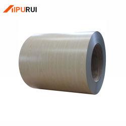 Acier recouvert de couleur dans la bobine ou une feuille pour la maison et l'usine de construction et de toiture Walling