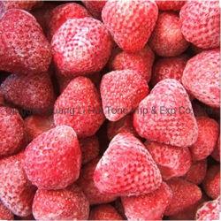 2020 새로운 작물 도매에 의하여 언 IQF는 빨간 신선한 딸기 열매를 맺는다