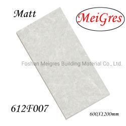 Baumaterialmatt-konkrete Marmorporzellan-Fußboden-Fliese (600*1200mm)