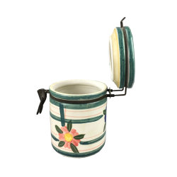 Cozinha grande recipiente selado em cerâmica