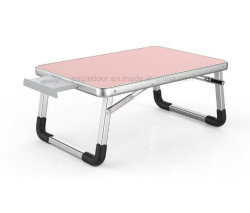 Couch Floor Students KidsのためのラップトップBed Tray Lap Desk Foldable Portable Standing Breakfast Reading Camping Tray Holder