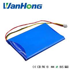 Pack de baterias de lítio recarregável 706595pl 7,4V 3000mAh Bateria de iões de lítio para DVD iPod bricolage de luz LED