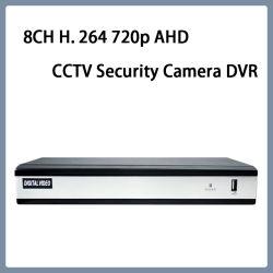 8CH H. 264 720p Ahd видео веб-камеры CCTV DVR
