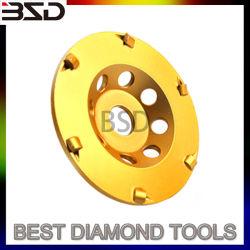 Rueda de la Copa Diamante PCD la placa de trituración