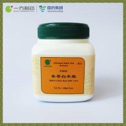 Shen Ling Bai Zhu San (extrait de thé aux herbes chinoises) pourrait nourrir la rate et l'estomac, du poumon Qi