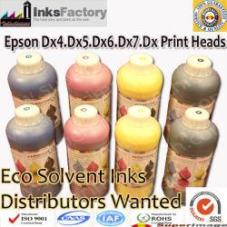 L'éco solvant d'encre pour Epson DX4. Dx5. Dx6. Dx7. Dx8 Têtes d'impression