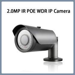 2,0 MP vigilância WDR IR à prova de bala de Segurança CCTV Câmara IP