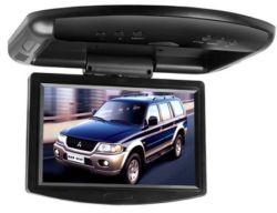 Couleur 7 pouces TFT-LCD moniteur Flip montage sur toit vers le bas