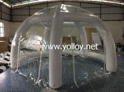Dôme gonflable Spider claire pour le Parti du camping