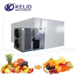 Droger van de Machine van het Dehydratatietoestel van de Groente van het Fruit van de Mango van de Spaanse pepers van de Vissen van de Riem van het Netwerk van de Hete Lucht van de Warmtepomp de Drogende