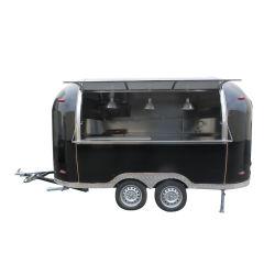 Molino de Harina de la familia de alta calidad de Viaje de la máquina retro camión de alimentos refrigerados, Carretas