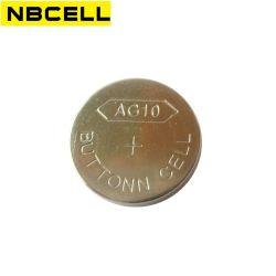 Alcalinas 1.5V Lr54 AG10 Batería de reloj de Pila de botón botón