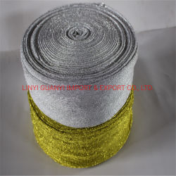 Bandes horizontales Fibre de bambou Cuisine Scourer éponge d'utilisation de chiffon de tissu