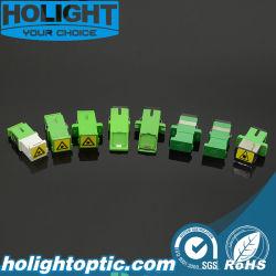 Faser-Optiksc-Adapter mit Selbst-Blendenverschluß APC