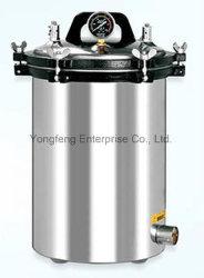 전기 또는 LPG 가열식 휴대용 압력 스팀 소독기 자동 전원