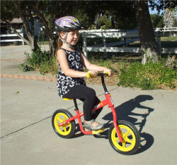 Vélo d'équilibre pour bébé OEM en aluminium de qualité aéronautique avec pédale