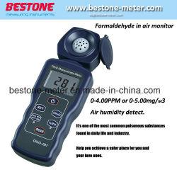Tester per umidità formaldeide (CH2O), monitor aria HCHO, rilevatore di gas, allarme di sicurezza e protezione CH2O-207