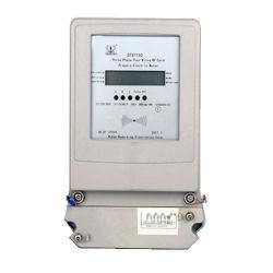Pantalla LCD de prepago tarjeta RF Medidor de energía eléctrica trifásica