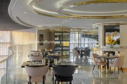 Gebruikt Industrieel modern Houten Restaurant meubilair eettafel en stoel
