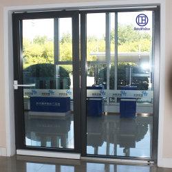 アルミニウムかアルミ合金の緩和されたガラスの内部の逆の滑走の機密保護のドア