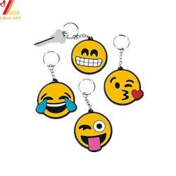 Kundenspezifisches Qualität Belüftung-Gesichtsausdruck-Schlüsselketten-Geschenk