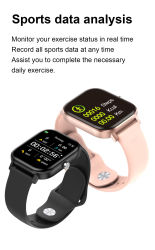 Smartwatch llamada de teléfono Bluetooth de alta resolución para hombres, mujeres Relojes de Pulsera Bo Bp ver bandas Fitness Tracker Reloj inteligente TW36 para teléfono móvil