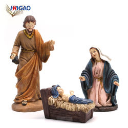 最もよい販売の樹脂の宗教技術装飾教会の家の装飾