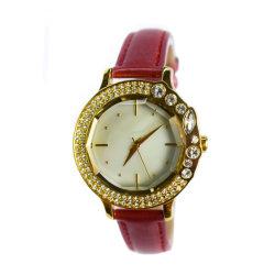 Commerce de gros cristaux de mode de pierre en alliage de bracelet cadeau19133 Lady Watch (cm)